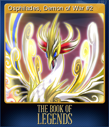 The Book of Legends Card 7