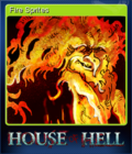 House of Hell Card 1