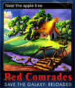 Red Comrades Save the Galaxy Reloaded Card 5