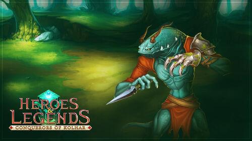 Heroes & Legends Conquerors of Kolhar Artwork 5