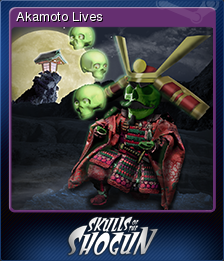Skulls of the Shogun Card 7