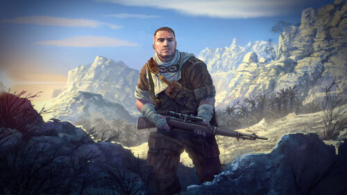 Sniper Elite 3 Artwork 8