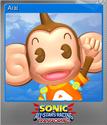 Sonic & All-Stars Racing Transformed Foil 9