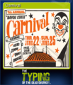 The Typing of the Dead Overkill Card 01