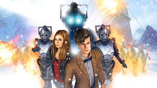Doctor Who The Adventure Games Artwork 2