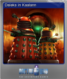 Doctor Who The Adventure Games Foil 6