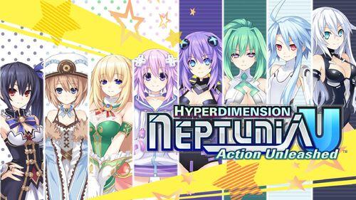 Hyperdimension Neptunia U Action Unleashed Artwork 3