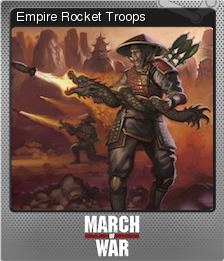 March of War Foil 05