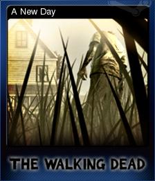 The Walking Dead Card 1