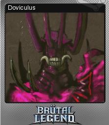 Brutal Legend Foil 6