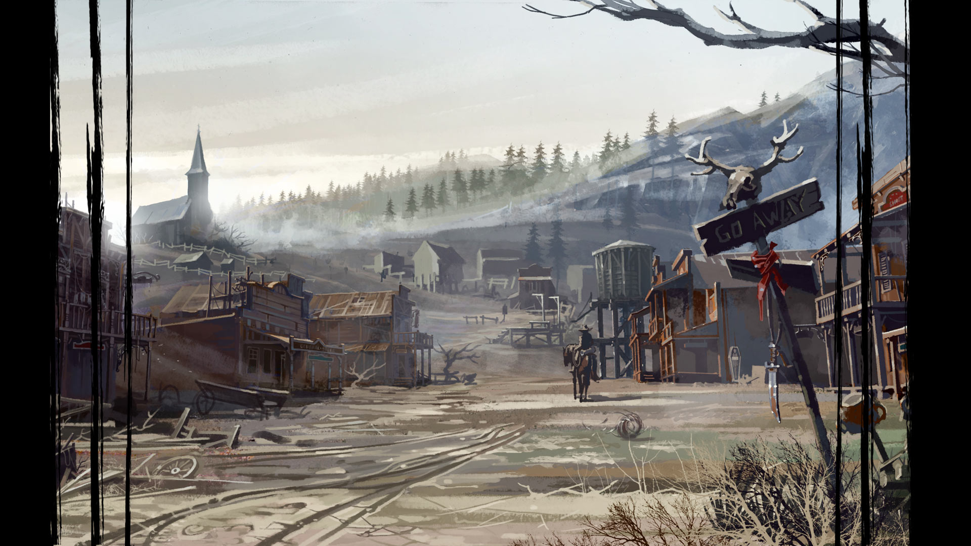call of juarez gunslinger - ghost town   steam trading cards wiki