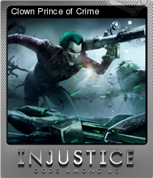 Injustice Gods Among Us Foil 5