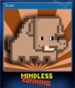 Mindless Running Card 2
