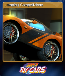 Super Toy Cars Card 1