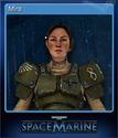 Warhammer 40,000 Space Marine Card 1