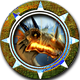 Draconian Wars Badge Foil