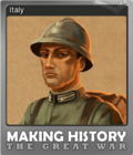 Making History The Great War Foil 6