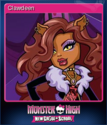 Monster High New Ghoul in School Card 2