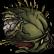 Pixel Puzzles UndeadZ Emoticon deadhead4
