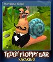 Teddy Floppy Ear Kayaking Card 2