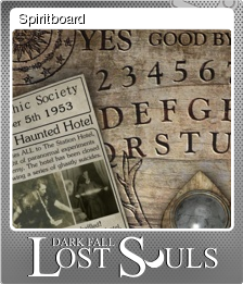 Dark Fall Lost Souls Foil 10