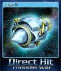 Direct Hit Missile War Card 8