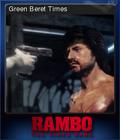 Rambo The Video Game Card 2