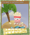 Summer Picnic Sale Foil 04