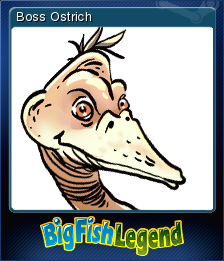 Big Fish Legend Card 5