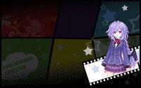 MegaTagMension Blanc + Neptune VS Zombies Background Plutia Background