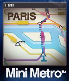 Mini Metro Card 5