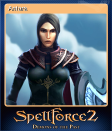 SpellForce 2 - Demons of the Past Card 1