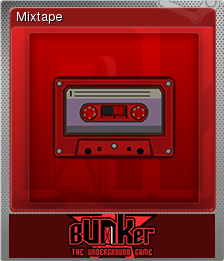Bunker - The Underground Game Foil 14
