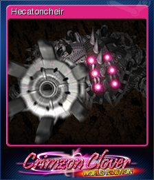 Crimzon Clover WORLD IGNITION Card 5