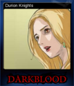 DARK BLOOD ONLINE Card 1