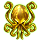 Nightmares from the Deep 3 Davy Jones Badge Foil