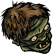 Pixel Puzzles UndeadZ Emoticon deadhead2