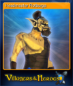 Villagers and Heroes Card 10