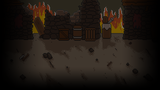 Adventurer Manager Background The Pillaged Town