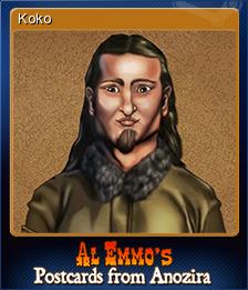 Al Emmo's Postcards from Anozira Card 3