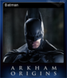 Batman Arkham Origins Card 2