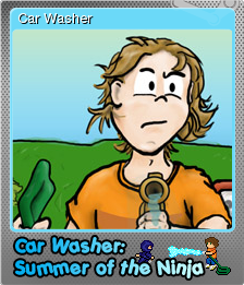 Car Washer Summer of the Ninja Foil 1