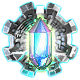 Crystals Of Time Badge Foil