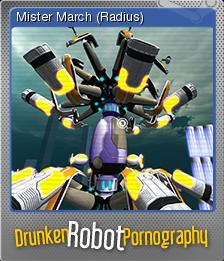 Drunken Robot Pornography Foil 2