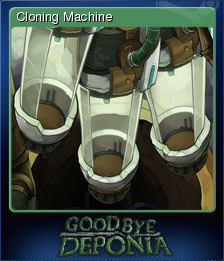 Goodbye Deponia Card 1