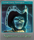 Nightmares from the Deep The Cursed Heart Foil 2
