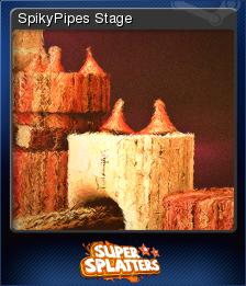 Super Splatters Card 5
