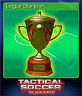 Tactical Soccer The New Season Card 1