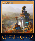 The Book of Unwritten Tales 2 Card 1