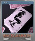 Backgammon Blitz Foil 5
